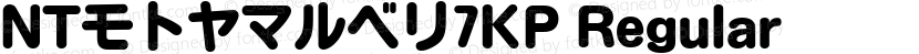 NTモトヤマルベリ7KP Regular Preview Image
