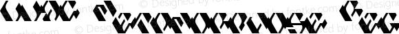 LVDC Metamorphose Regular Macromedia Fontographer 4.1J 04.1.26