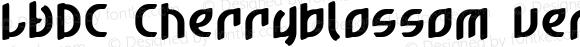 LVDC Cherryblossom ver.3 Macromedia Fontographer 4.1J 04.2.13