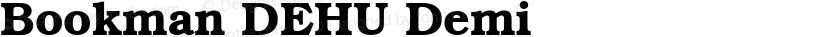 Bookman DEHU Demi Preview Image