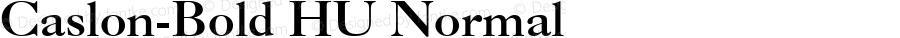 Caslon-Bold HU Normal 1.000