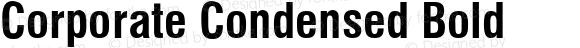 Corporate Condensed Bold