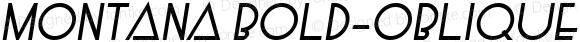 Montana Bold-Oblique