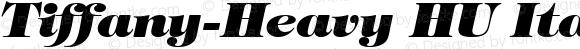 Tiffany-Heavy HU Italic 1.000