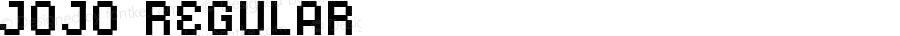 JoJo Regular Macromedia Fontographer 4.1.4 7/26/04