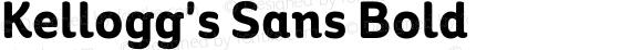 Kellogg's Sans Bold