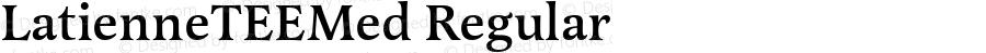 LatienneTEEMed Regular Version 001.005