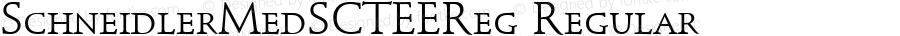 SchneidlerMedSCTEEReg Regular Version 001.005