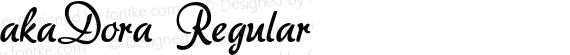akaDora Regular preview image