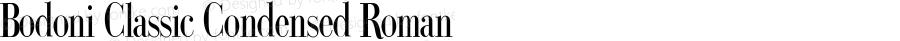 Bodoni Classic Condensed Roman PDF Extract