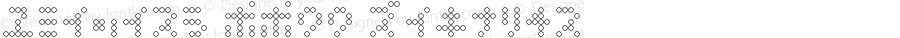 OneZero KK00 Regular Macromedia Fontographer 4.1J 06/02/2006