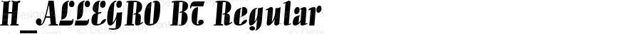 H_ALLEGRO BT Regular 1997. 01. 21.