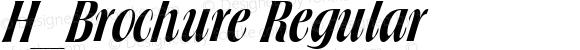 H_Brochure Regular 1997.01.15