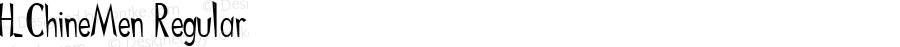 H_ChineMen Regular 1997.01.17