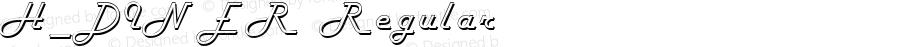 H_DINER Regular 1997. 01. 25.