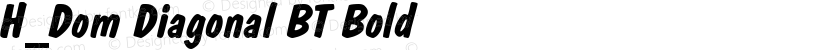 H_Dom Diagonal BT Bold Preview Image