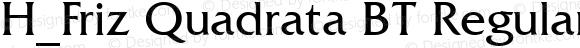 H_Friz Quadrata BT Regular 1997.01.27