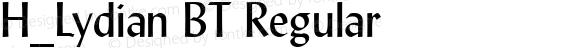 H_Lydian BT Regular 1997.01.28