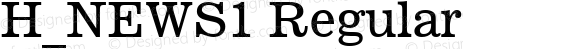 H_NEWS1 Regular 1997. 01. 26.