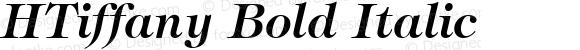 HTiffany Bold Italic 1.0 Mon Mar 29 14:23:18 1993