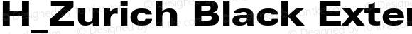 H_Zurich Black Extended BT Regular 1997.01.25