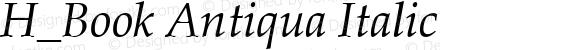 H_Book Antiqua Italic 1997.01.15