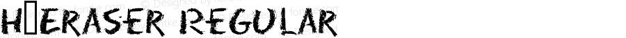 H_Eraser Regular 1997.01.19