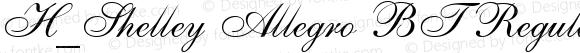 H_Shelley Allegro BT Regular 1997.01.27