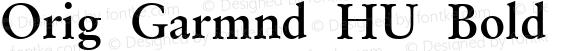 Orig Garmnd HU Bold 1.000