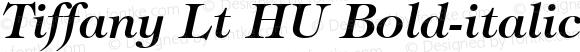 Tiffany Lt HU Bold-italic 1.000