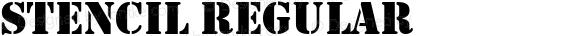 Stencil Regular