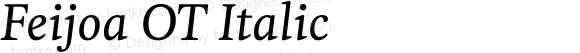 Feijoa OT Italic