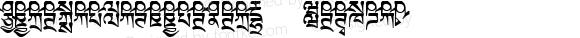 TibetanMachineWeb6 Regular Version 1.0; 2001; initial release