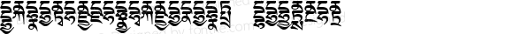 TibetanMachineWeb4 Regular Version 1.0; 2001; initial release