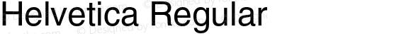 Helvetica Regular 001.006
