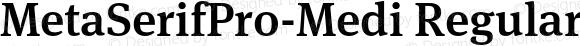 MetaSerifPro-Medi Regular Version 7.502; 2007