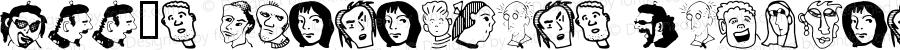 Ann's Characters Regular Macromedia Fontographer 4.1.3 12/6/00