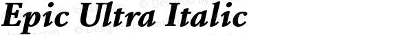 Epic Ultra Italic