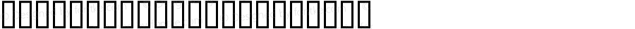AmericanIndian Regular Macromedia Fontographer 4.1 2/26/01