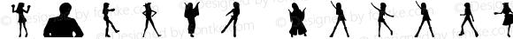 M@STER Chihaya Regular Macromedia Fontographer 4.1J 08.1.30
