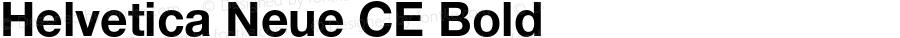 Helvetica Neue CE Bold 001.102