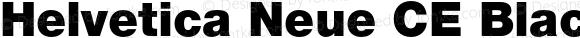 Helvetica Neue CE Black
