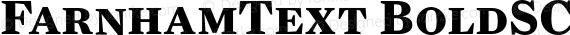 FarnhamText BoldSC Regular preview image
