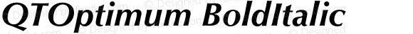 QTOptimum BoldItalic