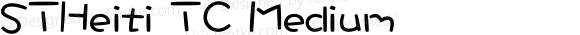 STHeiti TC Medium