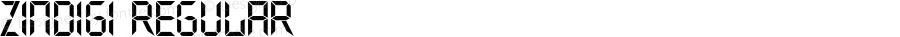 zinDigi Regular Fontographer 4.7 09.5.22 FG4M0000002045