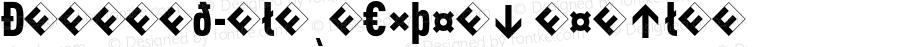 DINCond-BlackExpert Regular 004.301