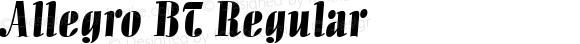Allegro BT Regular mfgpctt-v1.54 Thursday, February 11, 1993 10:17:03 am (EST)