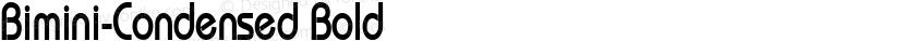 Bimini-Condensed Bold Preview Image
