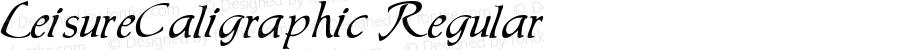 LeisureCaligraphic